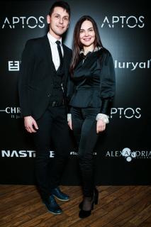 Андрей Родик и Екатерина Малькова