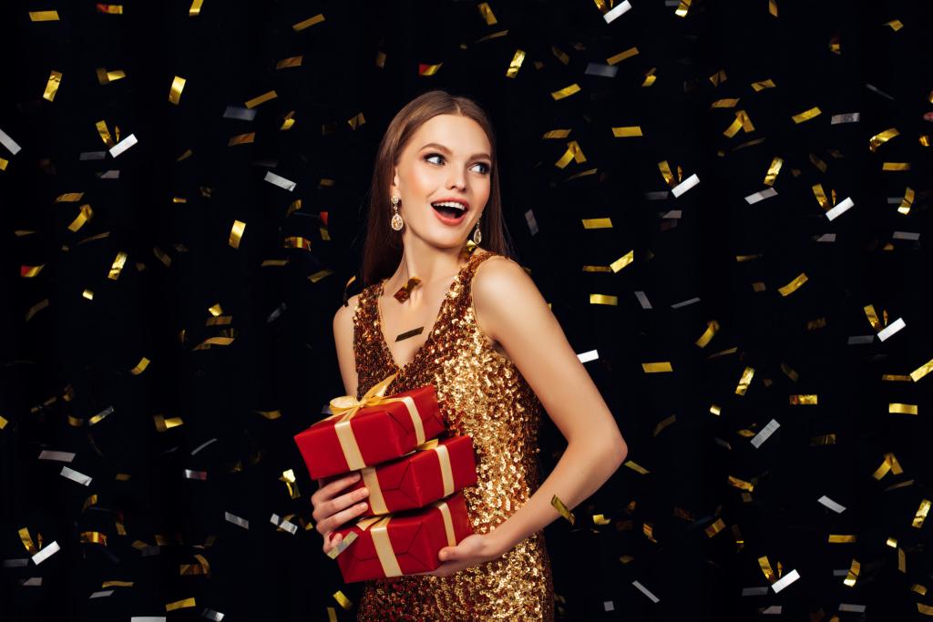 Как сделать праздничный новогодний макияж стойким