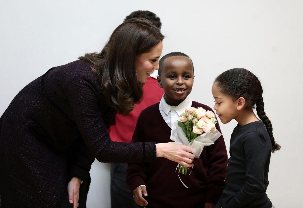 Беременная Кейт Миддлтон посетила благотворительную вечеринку-Фото 2