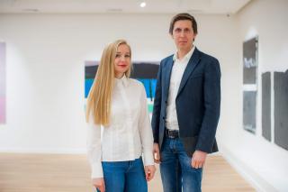 Максим и Юлия Волошины (учредители галереи современного искусства Voloshyn Gallery)