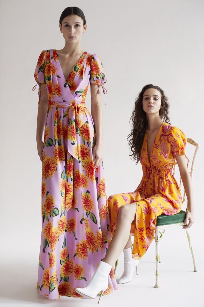 Каролина Хэррера представила коллекцию одежды Pre-Fall 2018-Фото 3