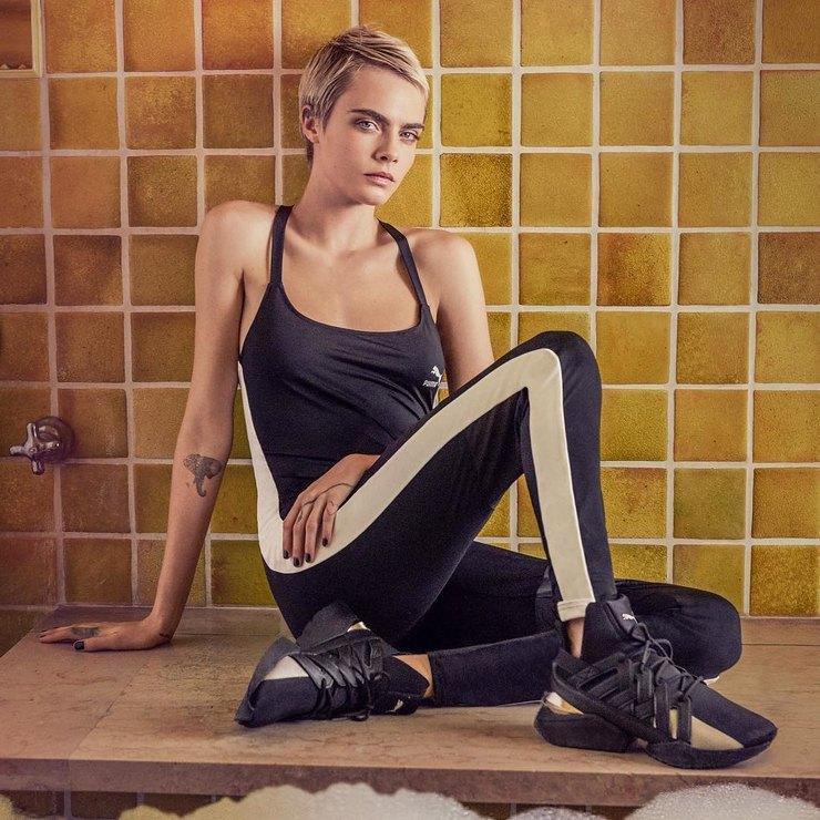 Кара Делевинь появилась в новой рекламной кампании Puma-Фото 2