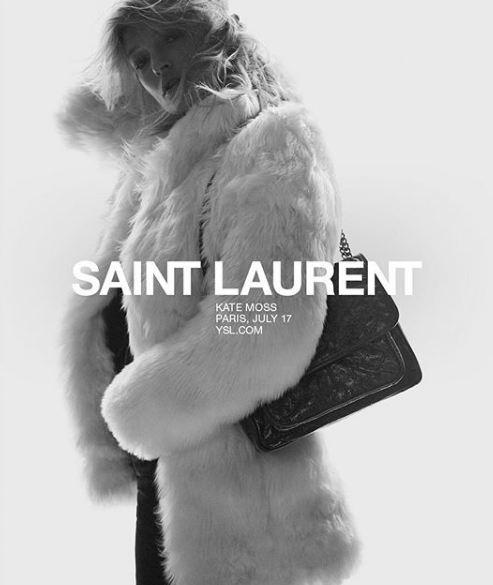 Кейт Мосс стала лицом Saint Laurent-Фото 6