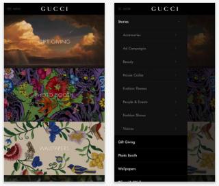 Gucci выпустил авторские фильтры для фото