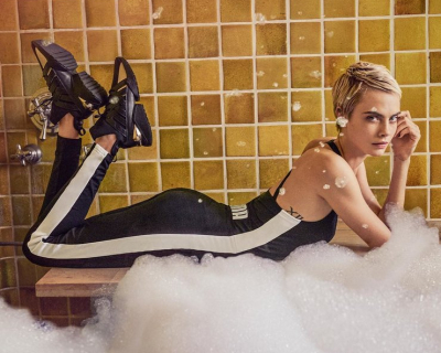Кара Делевинь появилась в новой рекламной кампании Puma-430x480