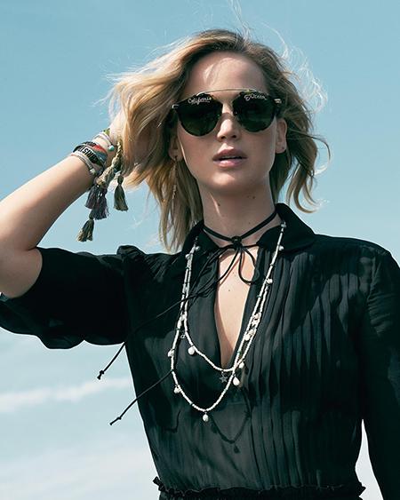 Дженнифер Лоуренс снялась для рекламы Dior-Фото 4