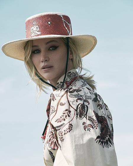 Дженнифер Лоуренс снялась для рекламы Dior-Фото 8