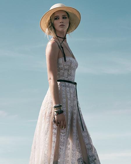 Дженнифер Лоуренс снялась для рекламы Dior-Фото 2