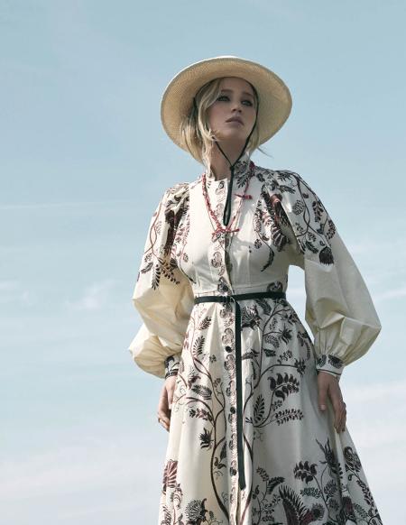 Дженнифер Лоуренс снялась для рекламы Dior-Фото 7