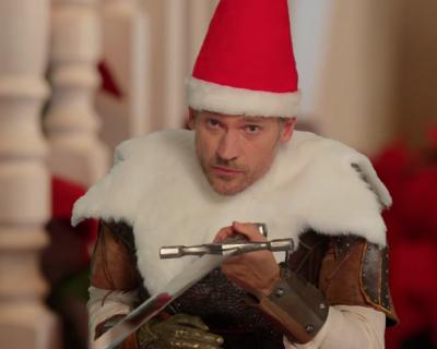 Звезда «Игры престолов» снялся в забавном новогоднем ролике-430x480