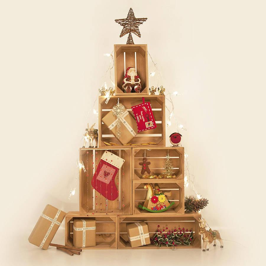 Новый взгляд: 8 интересных альтернатив новогодней елке-Фото 4