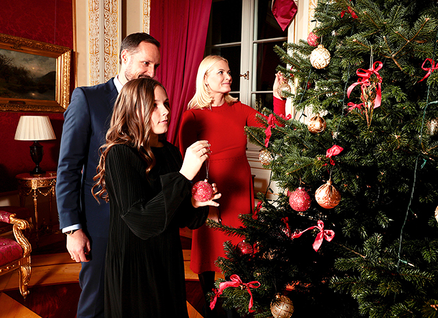 Королевская семья Норвегии представила серию рождественских фото-Фото 5