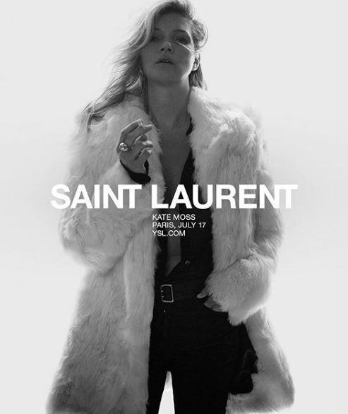Кейт Мосс стала лицом Saint Laurent-Фото 4