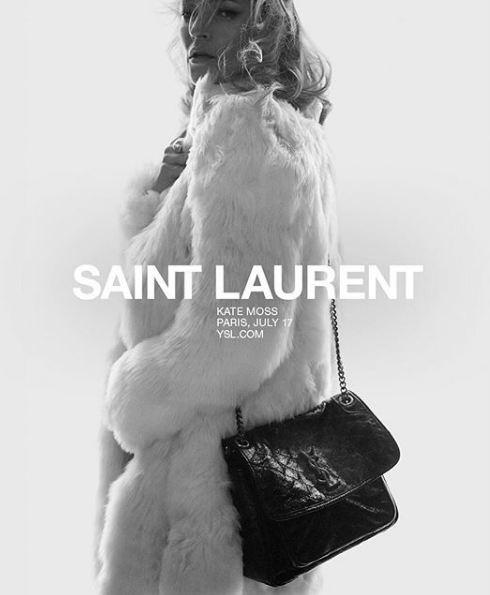 Кейт Мосс стала лицом Saint Laurent-Фото 2