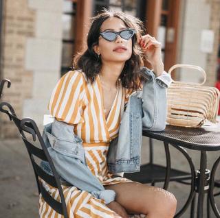 Модный тренд из Instagram: как носить очки «привет из 90-х»