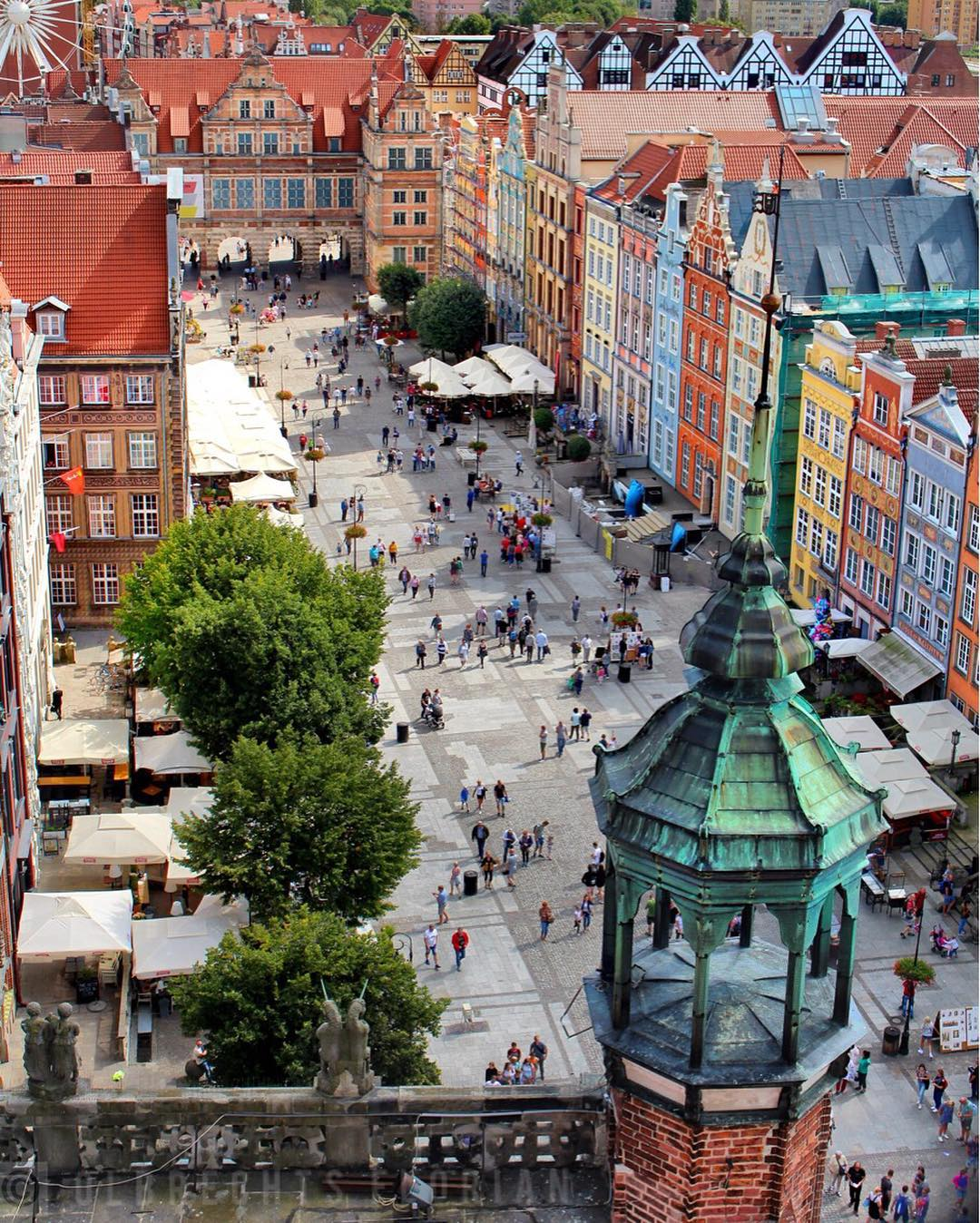 Яркие европейские города