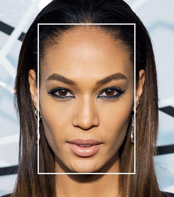 Как определить форму лица: прямоугольная форма лица