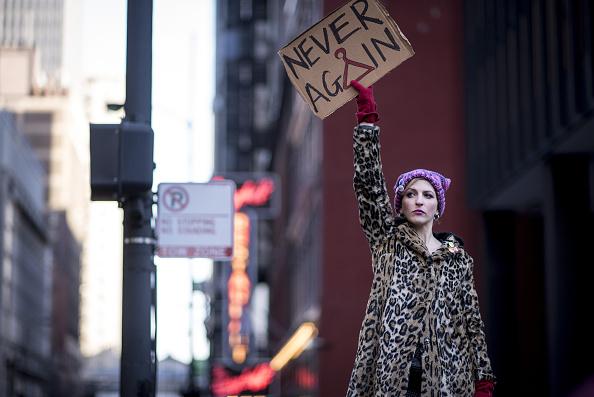 В США прошел второй «Марш женщин» фото 1
