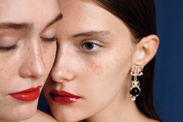 Трендовый макияж в эксклюзивной съемке Сhanel для Marie Claire Украина
