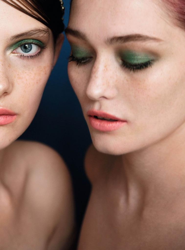 Трендовый макияж в эксклюзивной съемке Сhanel для Marie Claire Украина-Фото 3