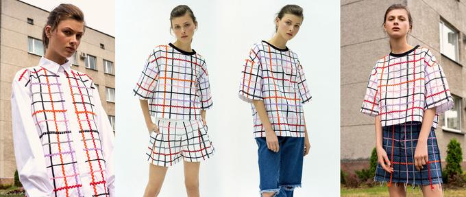 Одежда в клетку