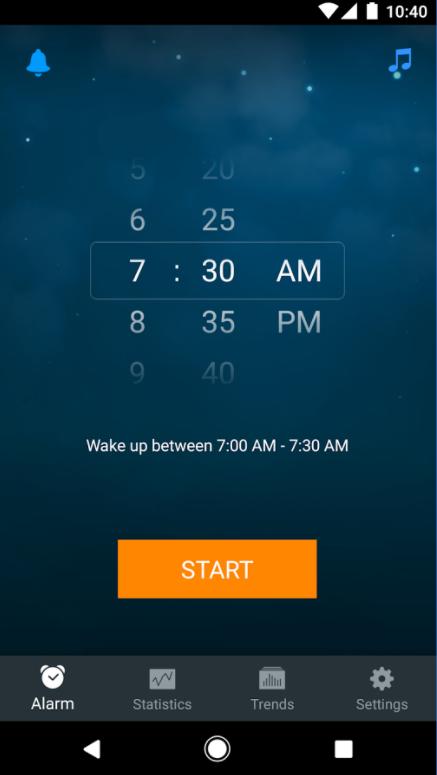 приложение звуки для сна
