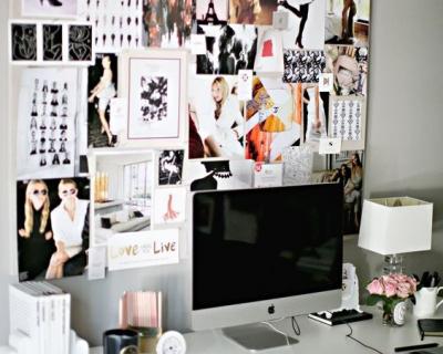 Как креативно организовать свое рабочее место-430x480