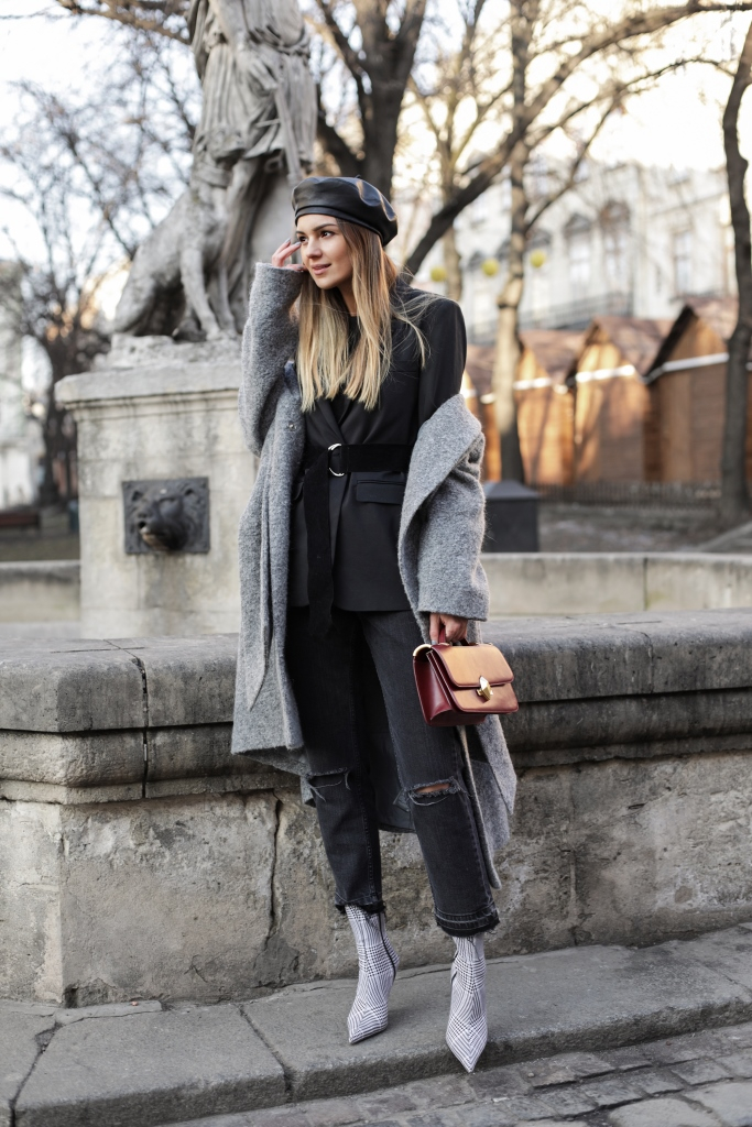 многослойность в одежде зимой