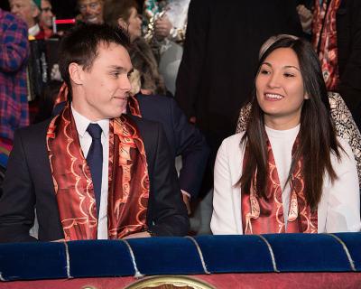 Внук Грейс Келли женится на возлюбленной вьетнамского происхождения-430x480