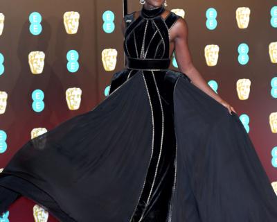 Против сексуальных домогательств: кто надел черный наряд на премию BAFTA-430x480