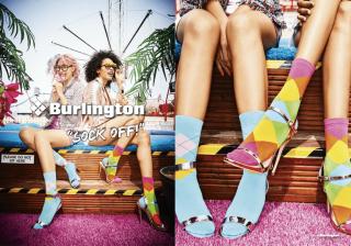 Добавь цвета: стильные образы с яркими носками
