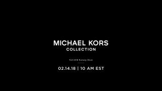 Прямая трансляция показа Michael Kors осень-зима 2018/2019
