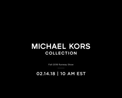 Прямая трансляция показа Michael Kors осень-зима 2018/2019-430x480