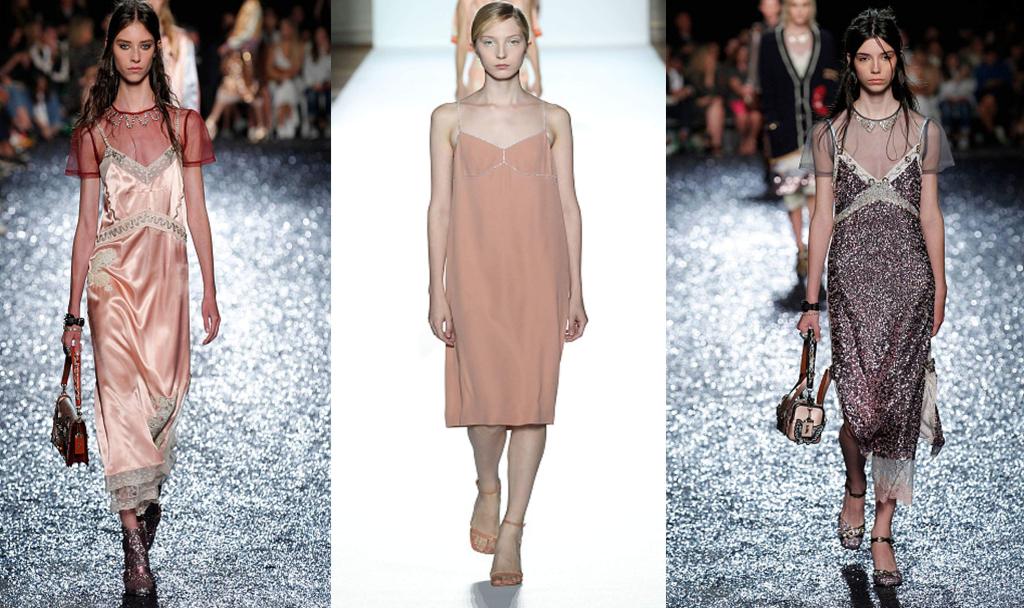 Платья-комбинации фото
