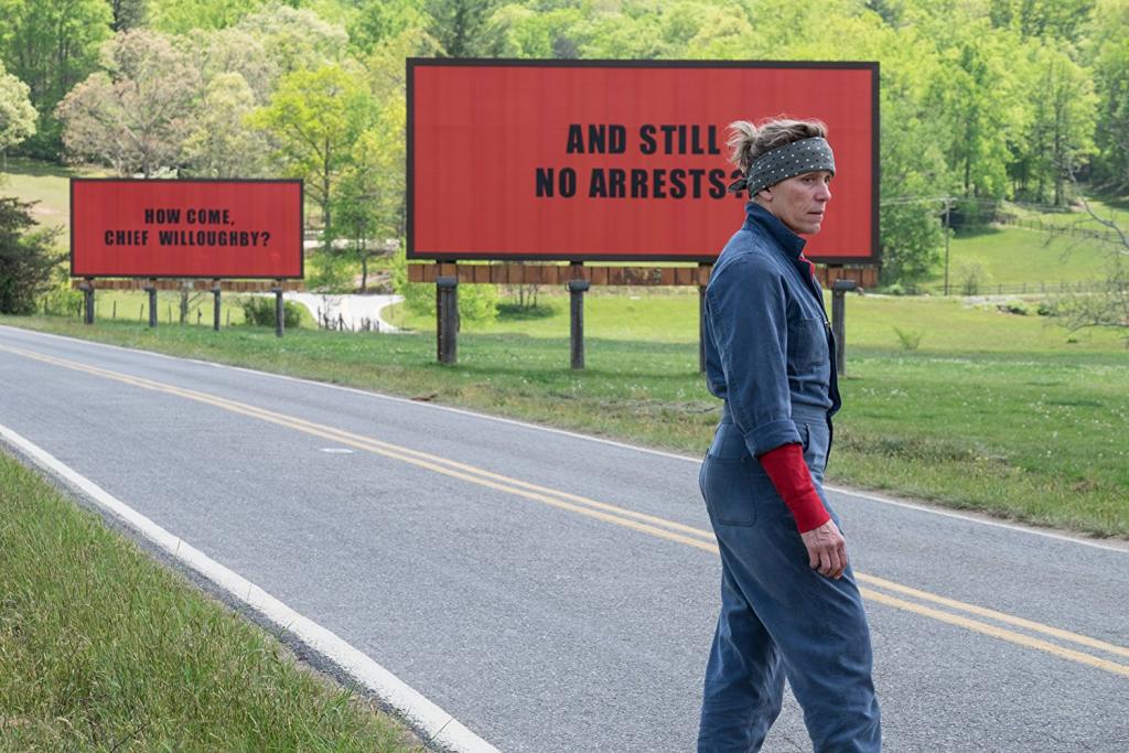 «Три билборда на границе Эббинга, Миссури» фото