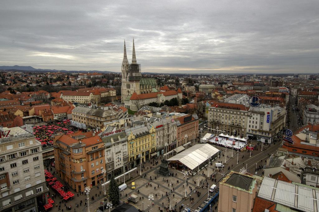 Загреб, Хорватия фото