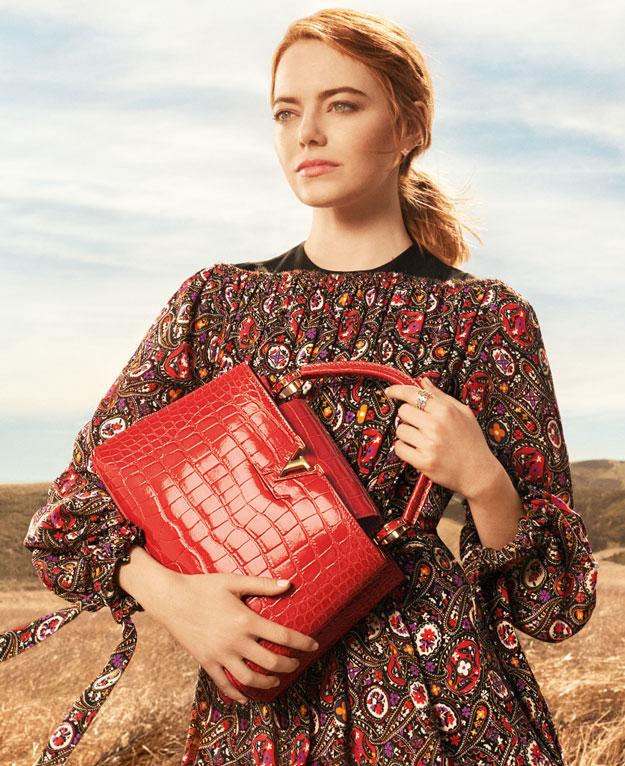 Louis Vuitton: Эмма Стоун снялась в первой рекламной кампании-Фото 2