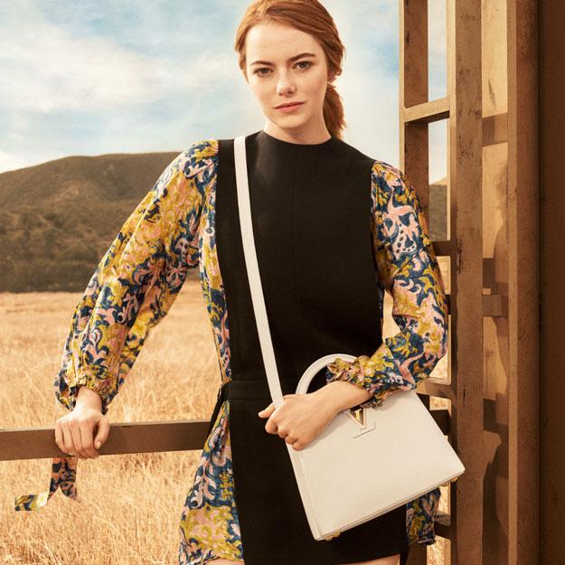 Louis Vuitton: Эмма Стоун снялась в первой рекламной кампании-Фото 3