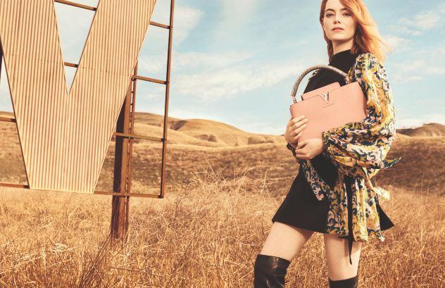 Louis Vuitton: Эмма Стоун снялась в первой рекламной кампании-320x180