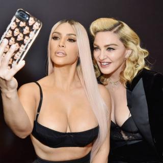 Мадонна и Ким Кардашьян поделились секретами по уходу за собой