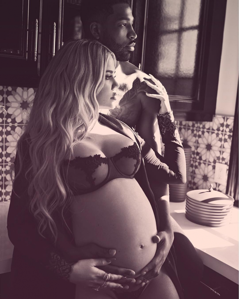 Хлои Кардашьян беременна