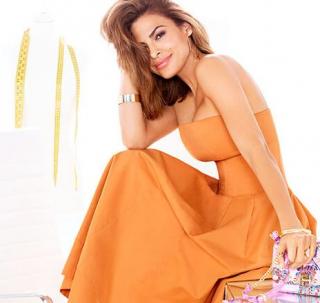 Ева Мендес снялась в рекламе своей коллекции одежды