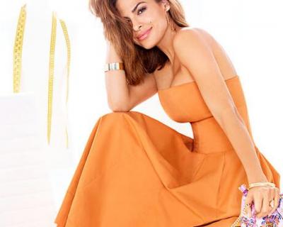 Ева Мендес снялась в рекламе своей коллекции одежды-430x480
