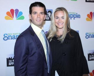 Сын Трампа разводится с женой спустя 13 лет брака