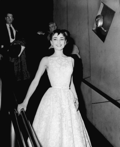 Одри Хепберн на вручении Оскар