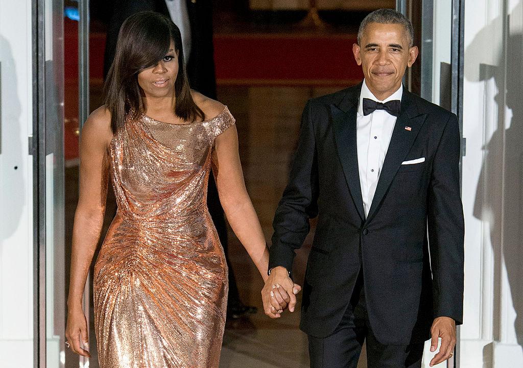 Барак и Мишель Обама фотографии
