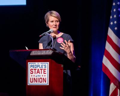 Звезда «Секса в большом городе» баллотируется в губернаторы Нью-Йорка-430x480
