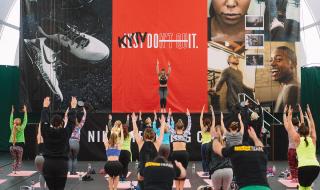 NIKE провел масштабную фитнес конвенцию