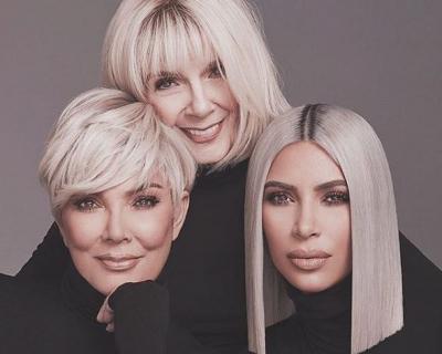 Ким Кардашьян с мамой и бабушкой снялись в рекламе бьюти-бренда-430x480