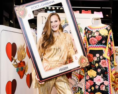 Как это было: презентация весенне-летней коллекции Dolce&Gabbana-430x480